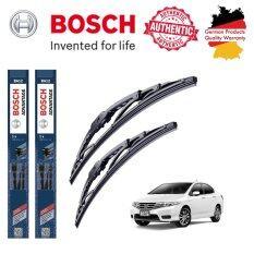 ซื้อ ใบปัดน้ำฝน Bosch Advantage ขนาด 24 นิ้ว และ 14 นิ้ว สำหรับ Honda City Gm Year 10 14 ใน กรุงเทพมหานคร