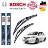 ส่วนลด ใบปัดน้ำฝน Bosch Advantage ขนาด 24 นิ้ว และ 14 นิ้ว สำหรับ Toyota Vios Year 07 Bosch กรุงเทพมหานคร