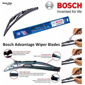 Bosch Advantage size 18 inch U Type / ใบปัดน้ำฝน บ๊อช รุ่น Advantage ขนาด 18 นิ้ว แบบ U Type