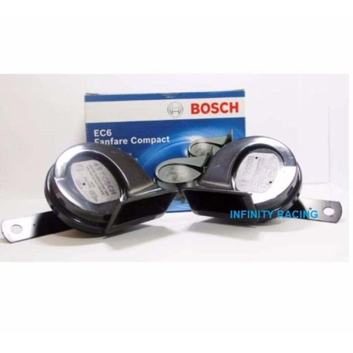 ซื้อที่ไหน BOSCH แตรหอยโข่ง EC6 (V12) สีดำ(โทนเสียงต่ำ-สูง)