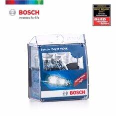 ขาย ซื้อ ออนไลน์ Bosch ไฟหน้ารถยนต์ และ จักรยานยนต์ รุ่น Sportec H4 วัสดุมีคุณภาพ ทนทานต่อทุกการใช้งาน