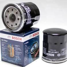 โปรโมชั่น Bosch กรองน้ำมันเครื่อง สำหรับรถยนต์ Toyota 16 Vale Ae80 Ae92 At171 St191 Soluna 1996 02 Altis 2004 09 Vios 2002 13 Yaris 2004 13 Wish 2 2004 08 X 2ลูก ถูก