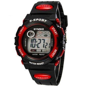 เด็ก Bounabay แบรนด์แฟชั่นชื่อดังกีฬา LED อิเล็กทรอนิกส์นาฬิกาดิจิตอลนาฬิกาข้อมือ - นานาชาติ