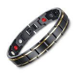 ราคา Brand Design Fashion Health Bracelet Bangle Stainless Steel Magnet Jewelry For Men Christmas Gifts Unbranded Generic เป็นต้นฉบับ