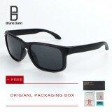 ขาย Bruno Dunn Brand หนุ่มแว่นกันแดดโพลาไรซ์ ผู้หญิงผู้ชาย แว่นตา Vr46 9912 Black Frame Black Lens Bruno Dunn ถูก