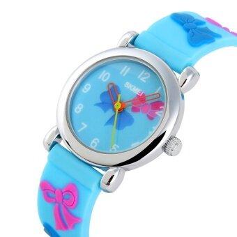 Brand Watch Children Quartz Boys Girls Sports Watches Fashion Casual Ladies Wristwatches Jelly Kids Clock girls Students Clock 1047 - intl