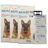 ซื้อ Bravecto For Large Dogs รักษาการติดเห็บ และหมัดในสุนัข ชนิดเม็ด สำหรับสุนัขขนาดใหญ่ นน มากกว่า 20 40 Kg 3 Units ถูก