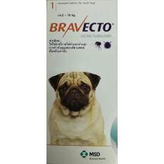 ราคา Bravecto นน 4 5 10 Kg ยากำจัดเห็บหมัด ชนิดเม็ด ใหม่ ถูก