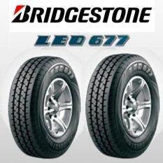 ขาย Bridgestone ยางรถยนต์บริสโตน ฃนาด 195R14 Leo677 2 เส้น Bridgestone ถูก