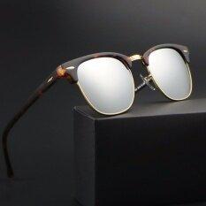 ขาย Bruno Dunn 3016 Glass Lense Club Women Sunglasses 2017 Sun Glasses Female Oculos De Sol Espelhado Lunette Femme Gafas Mujer Ray Bd3016 Leopard Frame Silver Lens Intl ใหม่