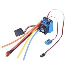 Brushless 120a Esc Sensor Brushless Speed Controller For 1:8 1:10 Rc Car - Intl By Electronicity.