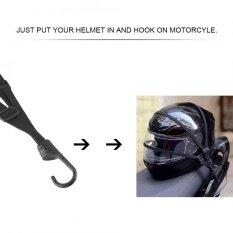 โปรโมชั่น Bsddp Motorcycle Strength Retractable Helmet Luggage Elastic Rope Strap With 2 Hooks Intl ถูก