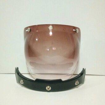 BUBBLE ชิววินเทจเปิดหน้าได้ แว่นวินเทจพร้อมก้านยก สำหรับใส่กับหมวกแนววินเทจคลาสสิค สีทูโทน เปิดหน้าได้
