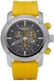ขาย Burberry Sport Chronograph Grey Dial Yellow Rubber Mens Watch Bu7712 Burberry