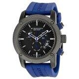 ขาย Burberry Sport Chronograph Men S Watch Rubber Strap Bu7714 Blue Grey Burberry เป็นต้นฉบับ