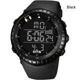 ราคา Buyincoins Men Sport Stainless Steel Led Digital Date Analog Military Wrist Watch Black Black Intl Buyincoins ใหม่