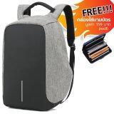 ราคา Caden กระเป๋าเป้ Laptop Notebook สะพายหลัง เนื้อผ้ากันน้ำ รุ่น S5 แถมฟรี กล่องใส่นามบัตร มูลค่า 159 บาท Caden