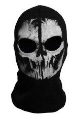 ซื้อ Call ของ Duty Cosplay 02 Balaclava Ghost Skull หน้ากากใบหน้าสำหรับ รถจักรยานยนต์ขี่จักรยาน Cs จีน
