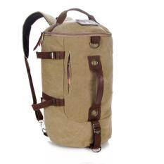 ราคา Caogenyizhuxilie รหัส 020 กระเป๋าเป้สะพายหลังทรงแคปซูน สะพายข้างได้ เป็นกระเป๋าผ้าอย่างดี ดีไซด์ทันสมัย เป็นต้นฉบับ Usams