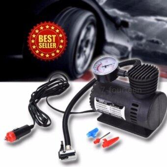 Car เครื่องสูบลมยางแบบพกพา รุ่น Air pump 300PSI 12V(Black)
