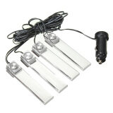 โปรโมชั่น Car Charge 4 In 1 Led Interior Floor Dash Decorative Atmosphere Light Lamp 12V