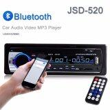 Car Fm Bluetooth Stereo Audio Mp3 Player Radio 1 Din In Dash Fm Receiver Handfree Call With Usb Sd Mmc Input 12V Jsd 520 Intl ใน จีน