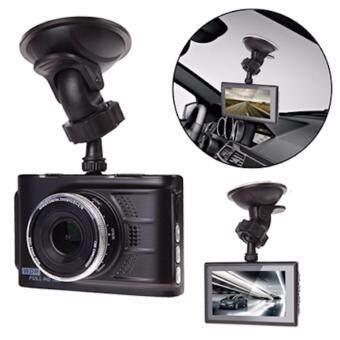 Car กล้องติดรถยนต์ FULL HD 3.0\ big size screen 1080P รุ่น T612 (สีดำ)