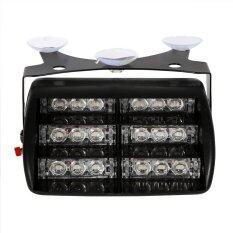 ราคา Car Police Strobe Warning Light Lamp 18 Leds Dash Emergency 3 Flash Lights 12V Yellow Intl ใหม่