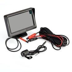 ราคา Car Rear View Kit 4 3 Tft Lcd Monitor Night Vision Car Reversing Camera Intl Vktech ออนไลน์