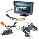 ราคา Car Rear View Reverse Monitor Wireless Transmitter 7 Led Ir Camera 4 3 Inch ออนไลน์ จีน