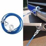 ราคา สายสลิงลากจูงรถยนต์ ลวดดึงเชือกดึงเชือก Car Sling Cable Towing สีน้ำเงิน เป็นต้นฉบับ Unbranded Generic