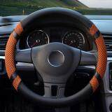 ซื้อ Car Steering Wheel Covers Diameter 15 Inch Pu Leather For Summer Yellow ถูก