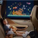 ส่วนลด ที่กันแดดในรถรุ่นใหม่ พับเก็บได้ ติดกับกระจก Car Sun Shade ม่านกันแดด ในรถ Car ใน Thailand