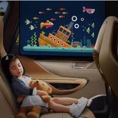 ขาย ซื้อ ที่กันแดดในรถรุ่นใหม่ พับเก็บได้ ติดกับกระจก Car Sun Shade ม่านกันแดด ในรถ