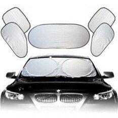 ราคา ที่บังแดดหน้าต่างรถยนต์car Sun Shade Window Sunshade Covers Visor Bubbles Auto Sun เป็นต้นฉบับ