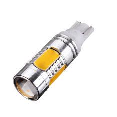 ราคา Car Yellow 5 Led Cob Smd 7 5W T10 W5W Light Bulb Lamp เป็นต้นฉบับ
