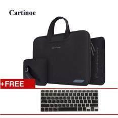 Cartinoe Carrying Bag 4 In 1 New Breath Serise Handbag For Macbook Air 13 Inch Black Thailand