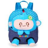 โปรโมชั่น Cartoon Children S Sch**l Bags Baby Backpack Doll Bags Travel Backpack Blue Monkey ถูก
