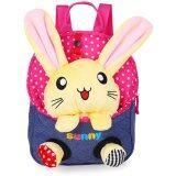 ส่วนลด Cartoon Children S Sch**l Bags Baby Backpack Doll Bags Travel Backpack Red Rabbit จีน