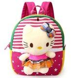ขาย Cartoon Preschool Backpack Cute Kids Bag Rose Red Kitty Unbranded Generic เป็นต้นฉบับ