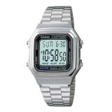 ขาย Casio นาฬิกาข้อมือผู้ชาย รุ่น A178Wa 1Adf Black Silver Thailand ถูก