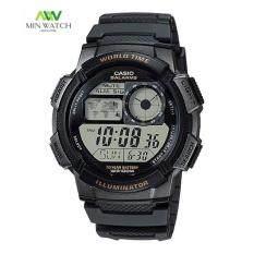 ราคา Casio Standard นาฬิกาข้อมือผู้ชาย สายเรซิ่น รุ่น Ae 1000W 1A Casio เป็นต้นฉบับ