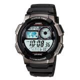 ซื้อ Casio นาฬิกาข้อมือผู้ชาย ดิจิตอล สายเรซิน รุ่น Ae 1000W 1Bvdf ดำ Casio ถูก