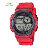 ราคา Casio Standard นาฬิกาข้อมือผู้ชาย สายเรซิ่น รุ่น Ae 1000W 4A ของแท้100 ถูก