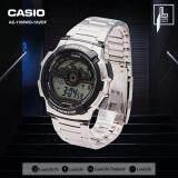 ซื้อ นาฬิกาข้อมือ Casio รุ่น Ae 1100Wd 1Avdf นาฬิกาข้อมือผู้ชาย สายเรซิ่น สีเงิน ถูก ใน กรุงเทพมหานคร