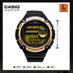 ซื้อ นาฬิกาข้อมือ Casio รุ่น Ae 3000W Standard นาฬิกาข้อมือผู้ชาย สายเรซิ่น กรุงเทพมหานคร