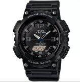 ขาย Casio นาฬิกาข้อมือผู้ชาย สายเรซิ่น รุ่น Aq S810W 1A2V Black Casio
