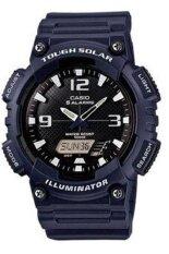 โปรโมชั่น Casio นาฬิกาข้อมือผู้ชาย สายเรซิ่น รุ่น Aq S810W 2A2V สีน้ำเงินเข้ม Casio ใหม่ล่าสุด
