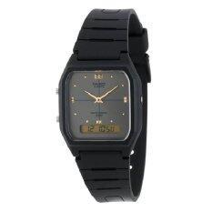 ขาย Casio นาฬิกาข้อมือ สีดำ สายเรซิ่น รุ่น Aw 48He 1Avdf Casio ใน ไทย