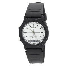 ขาย Casio นาฬิกาข้อมือ สายเรซิน สีดำ รุ่น Aw 49H 7Evudf ผู้ค้าส่ง